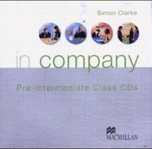 Bildtext: In Company Pre-intermediate: Class CD's 2 CD's, Audiobook, Audio CD von Simon Clarke