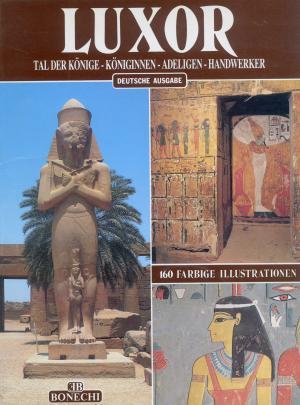 Bildtext: Luxor : Tal der Könige, Königinnen, Adeligen, Handwerker  Deir-el-Bahari, Medinet Habu, Memnonkolosse, Ramesseum von Giovanna Magi. [Übers.: Renate Grossrubatscher]