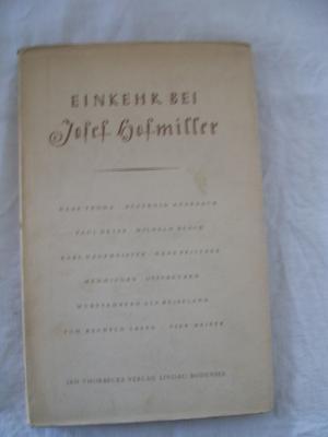 Einkehr bei Josef Hofmiller