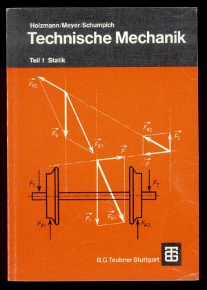 Technische mechanik teil 1 statik holzmann meyer for Statik formelsammlung