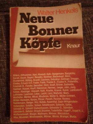 Neue Bonner Köpfe