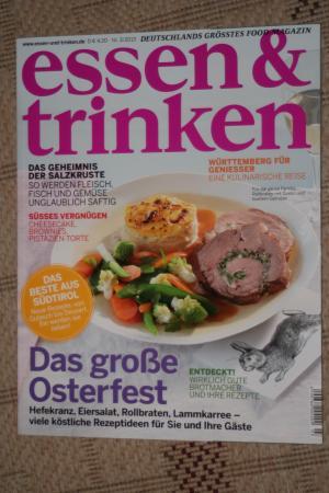 Zeitschrift Essen Und Trinken essen trinken märz 3 2013 zeitschrift magazin buch