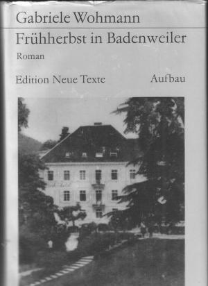 Frühherbst in Badenweiler    geb. Ausg.