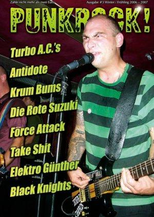 Bildtext: Punkrock! Nr.3 - Fanzine von Autorenkollektiv