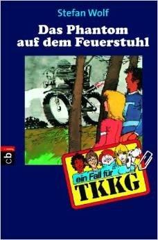 Bildtext: TKKG - Das Phantom auf dem Feuerstuhl von