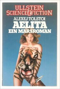 Bildtext: Aelita Ein Marsroman von Tolstoj, Alexej