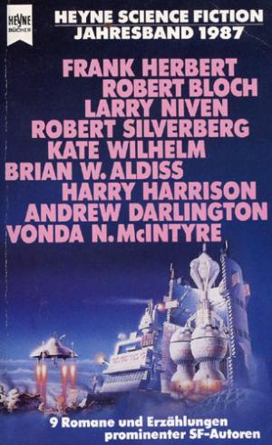 Bildtext: Heyne-Science-Fiction-Jahresband 1987 von Jeschke, Wolfgang (Hrsg.)