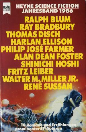 Bildtext: Heyne Science Fiction Jahresband 1986 von Jeschke, Wolfgang (Hrsg.)