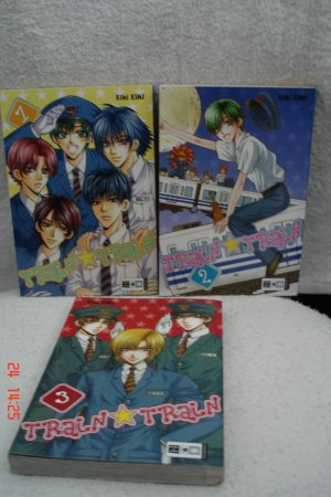 Train Train Band 01 03 Train Train 1 3 Komplette Manga Serie