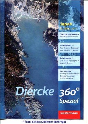 KARTENPOSTER ZUR KATASTROPHE IN JAPAN 2011 / Diercke 360° Spezial ...