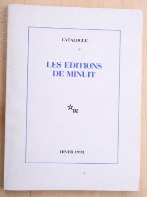 Catalogue Les editions de minuit