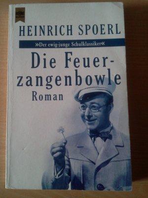 """""""Die Feuerzangenbowle"""" (Heinrich Spoerl) – Buch gebraucht"""