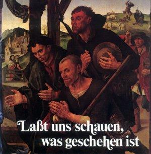 Bildtext: Lasst uns schauen was geschehen ist von Hugo van der Goes, Friedemann Fichtl