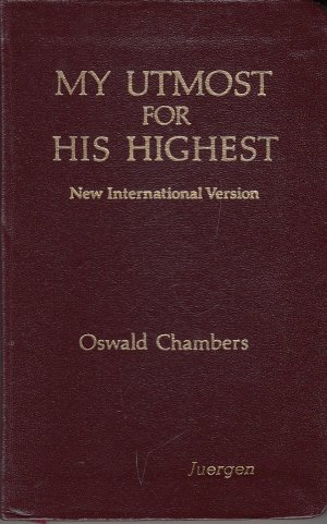 oswald chambers my utmost for his highest pdf