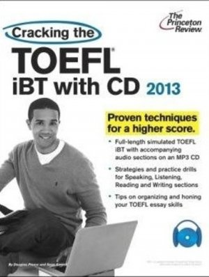 Bildtext: Cracking the TOEFL iBT with CD, 2013 Edition von Princeton Review