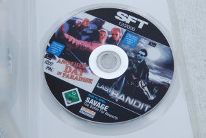 2 Filme: 1. Another Day in Paradise - 2.The Last Bandit - 3. Savage (PC-Spiel)