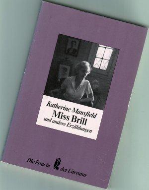 Miss Brill und andere Erzählungen