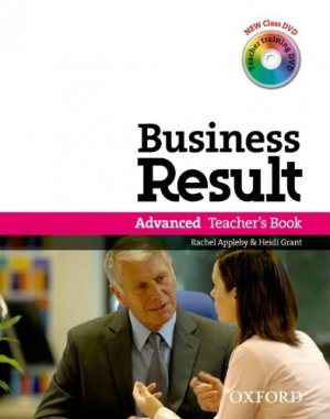 Bildtext: Business Result Advanced: Teachers Book (Pack mit Teacher Training DVD) von Rachel Appleby, Heidi Grant