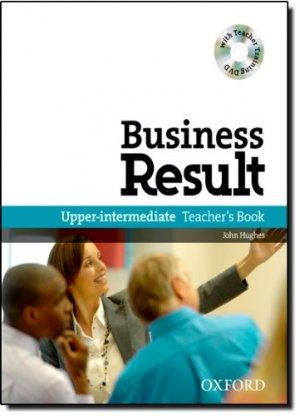 Bildtext: Business Result: Upper-Intermediate DVD Edition (Teacher's Book Pack mit Teacher Training DVD) von John Hughes