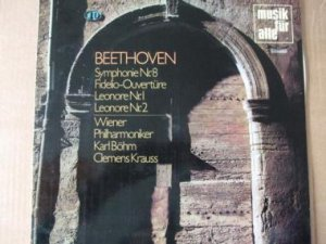 Beethoven Symphonie Nr.8 Fidelio Ouvertüre Leonore Nr1 und 2
