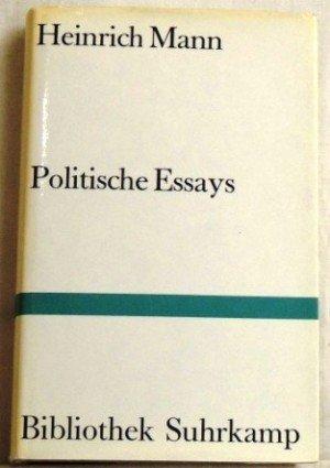 Politische Essays.