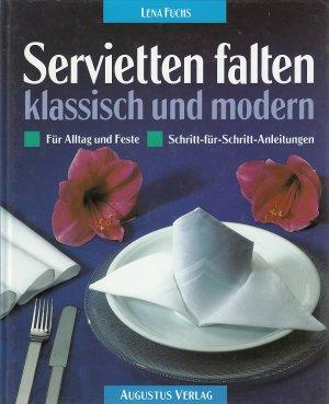 Isbn 9783804303713 servietten falten klassisch und - Servietten falten modern ...