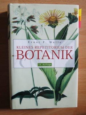 """Kleines Repetitorium der Botanik"""" (Welle Ernst F) – Buch gebraucht ..."""