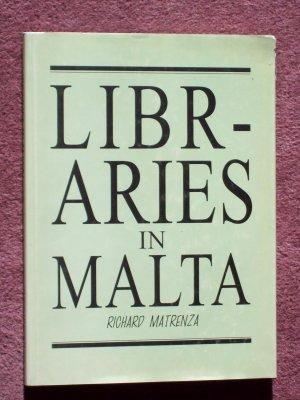 9789993200932 - Richard Matrenza: Libraries in Malta - Ktieb