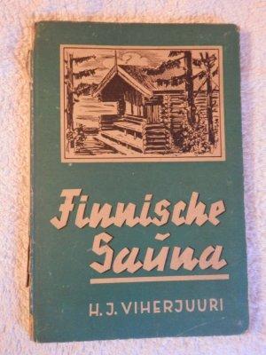finnische sauna viherjuuri hj buch antiquarisch. Black Bedroom Furniture Sets. Home Design Ideas