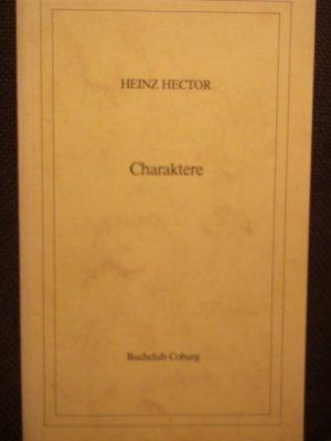Charaktere  ( Hector Werke IV).