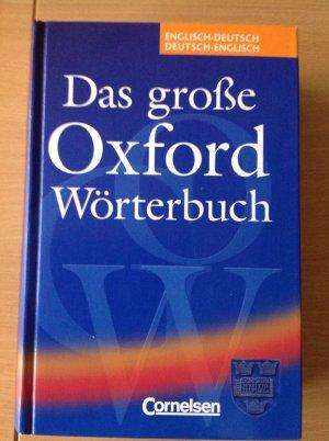 """fd062f8771 Das große Oxford Wörterbuch"""" – Buch gebraucht kaufen – A026hz0u01ZZj"""