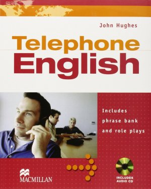 Bildtext: Telephone English: Students Book with Audio CD von John Hughes