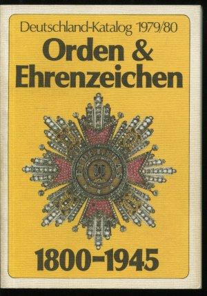 deutschland katalog orden ehrenzeichen 1800 1945 j rg. Black Bedroom Furniture Sets. Home Design Ideas