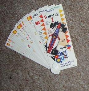 2x Pocketquiz für Kinder - Formel 1 und Schlauer als die Polizei erlaubt,
