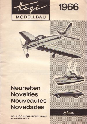 schuco hegi modellbau katalog neuheiten 1966 buch. Black Bedroom Furniture Sets. Home Design Ideas