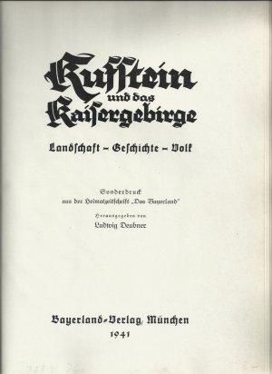 Kufstein und das Kaisergebirge