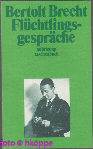 Superbe Gebrauchtes Buch U2013 Brecht, Bertolt U2013 Flüchtlingsgespräche. Vergrößern