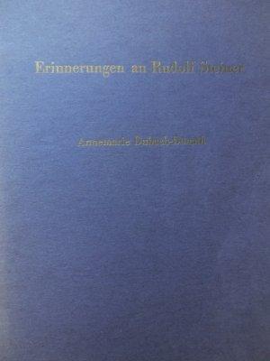 Errinerungen an Rudolf Steiner