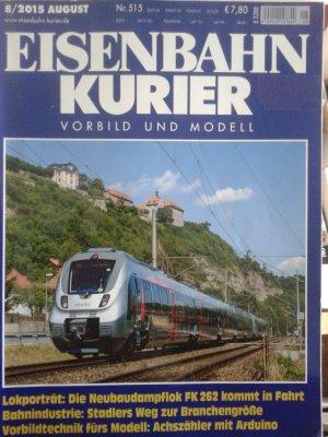 Eisenbahn Kurier. Heft 8/2015