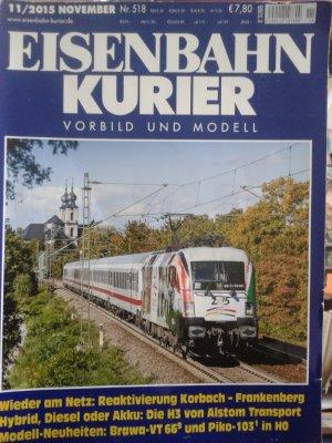 Eisenbahn Kurier, Heft 11/2015