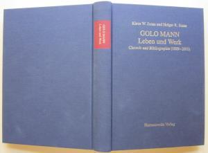 Golo Mann. Leben und Werk., Chronik und Bibliographie.