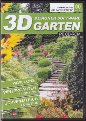 3D Designer Software Garten (PC CD ROM)