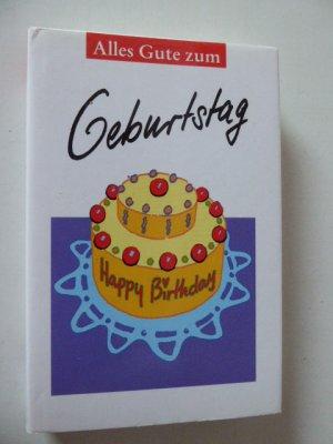 Alles Gute zum Geburtstag. Hardcover mit Schutzumschlag
