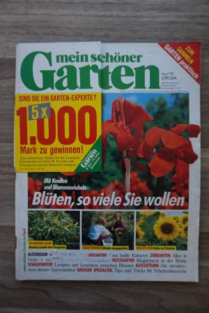 mein sch ner garten ausgabe april 1992 buch. Black Bedroom Furniture Sets. Home Design Ideas