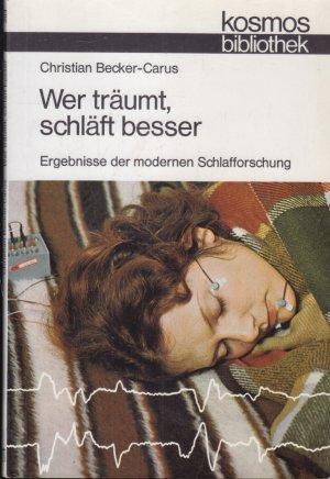 Wer träumt, schläft besser Ergebnisse der modernen Schlafforschung