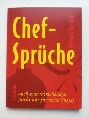 Chef Spruche Hogelucht Helmut Buch Gebraucht Kaufen A02g1uu801zzy