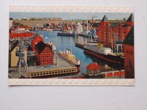 Lego Miniland Hamburger Hafen Alte Ak Ansichtskarte Mit Plastischer Lego Kante Hamburg Sierksdorf