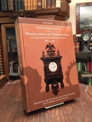 Buch für die Instandhaltung von Pendeluhren