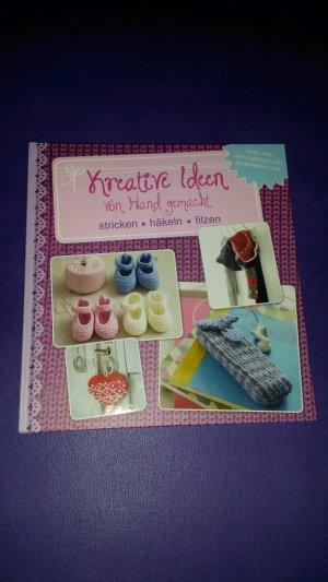 Kreative Ideen Von Hand Gemacht Stricken Häkeln Filzen Buch