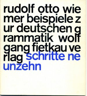 Beispiele Zur Deutschen Grammatik Gedichte Schritte Neunzehn